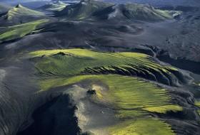 Paysage montagneux prés de Maelifellssandur, Islande