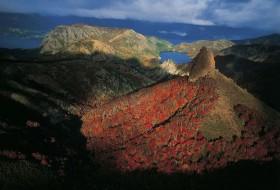 Paysage de montagne Argentine