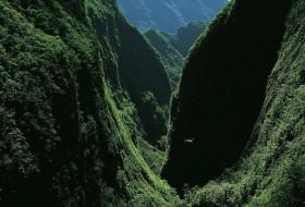 Paysage de montagne : Ile de la Reunion