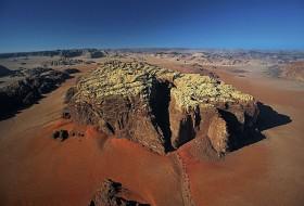 Paysage de montagne Jordanie