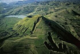 Paysage de montagne Madagascar