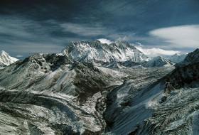 Paysage de montagne : Mont Everest