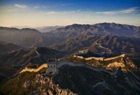 Paysage de montagne Muraille de Chine