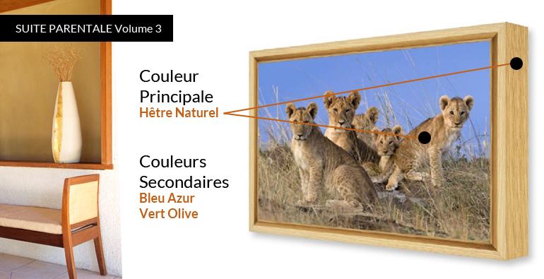 Chambre parentale id e d co intemporelle volume 3 for Tableau chambre parentale