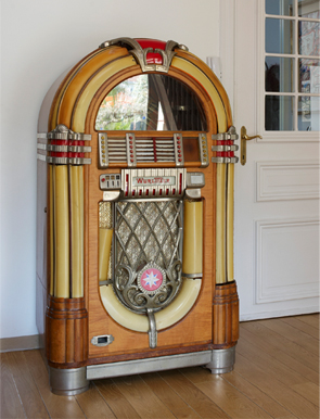 Deco Retro Juke box